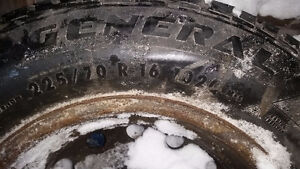 Winter tires & all seasons with rims for chevy equinox