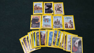 25 National Geographic Magazines