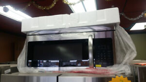 HAIER 1.6 CU FT. OVER THE RANGE MICROWAVE OVEN