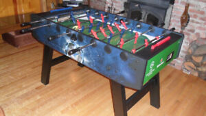 Table soccer professionnelle