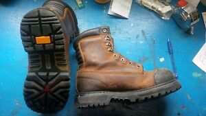 mens size 8 steel toe boots in Whitecourt Ab