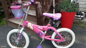 "Girl's 10"" Barbie bike for sale"
