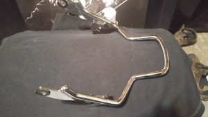 Harley backrest and other Harley parts