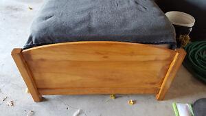 Twin Captain's Bed - Solid Oak Windsor Region Ontario image 2