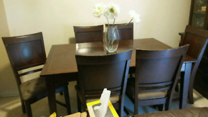 Kitchen table 6 chairs for sale