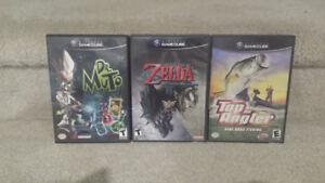* Four Nintendo Gamecube Games for Sale or Trade ZELDA MARIO!! *