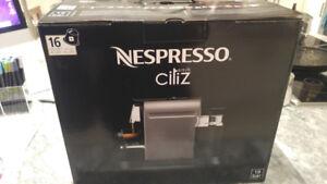 Nespresso Citiz and Milk neuve encore emballée !