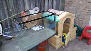 30 gallon tank with metal stand