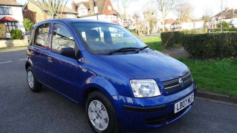 fiat panda dynamic 12 months mot 2007 manual 0 petrol blue petrol manual in norbury london. Black Bedroom Furniture Sets. Home Design Ideas