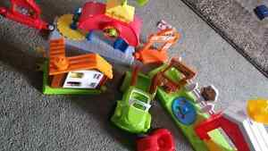 Large lot of Little People toys