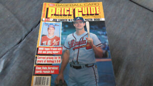 Sports Collectors Digest price guide(Jose Canseco poster)