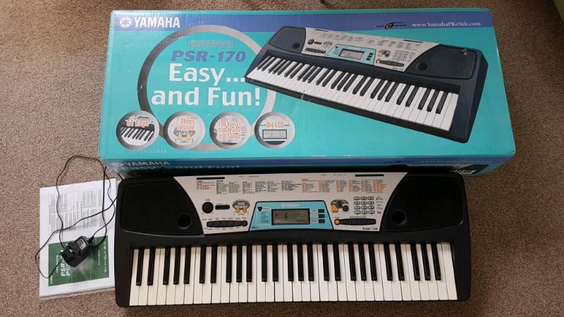 Yamaha PSR 170 piano keyboard | in North Hykeham, Lincolnshire | Gumtree
