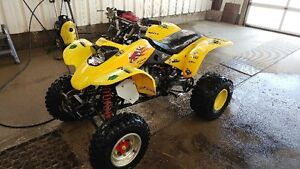 2003 ex400 swap or trade for automatic quad