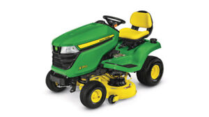 looking for a john deere lawn tractor