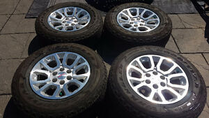 GMC / CHEVROLET  TRUCK / SUV FACTORY ALLOY WHEELS/TIRES $1350.00