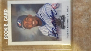 Collection base-ball Vladimir Guerrero !! Signature Jersey.