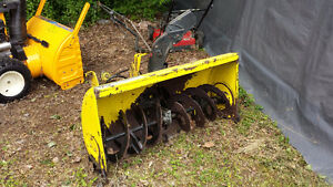 Snowblower for John Deere 316