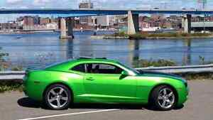 2011 CAMARO LT1 RS SYNERGY GREEN MANUAL V6 SUNROOF