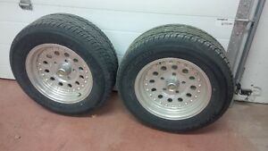"""pair of Outlaw II 15"""" 5x5 chevy truck bolt pattern"""