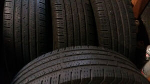 AllSEASON / SUMMER TIRES  215/70/16   ($175 SET OF 4)
