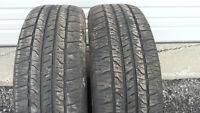 2 GoodYear 215 70 15 all season tires
