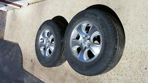 Mag et pneu pour Mazda tribute 16 pouces