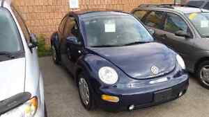 01 vw beetle only 106.000km very clean  safety and e-test inc.