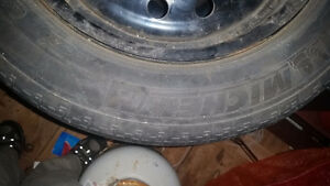 4x Michelin 195/60R15 on Rims