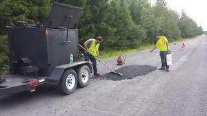 Benne asphalte 2.5T isolée pouvant être chauffée Trailer Asphalt