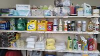 Cleaning supplies industrail items
