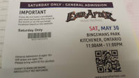 EVERAFTER music Festival - Saturday passes only - $100.00
