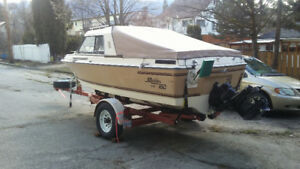 clean/strong fishing/pleasure boat for sale