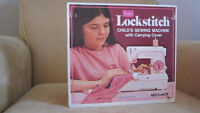 Sears Lockstitch Child's Sewing Machine with Carrying Case