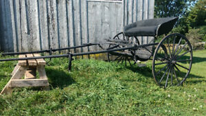 Two Person Horse Cart For Sale