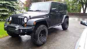 2013 Jeep wrangler MOAB unlimited