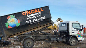 Oncall Garbage Removal Calgary Alberta image 1