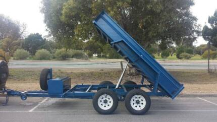 FROM $214 P/MONTH ON FINANCE* 10x6 TANDEM HYDRAULIC TRAILER