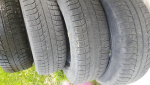 Michelin X ice tires with rims