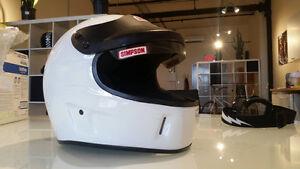 casque Simpson helmet
