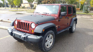 2007 Jeep Wrangler Sahara Unlimited 4WD SUV, Crossover