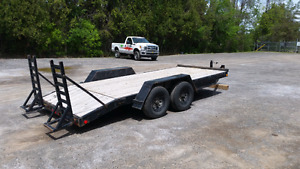 Float trailer