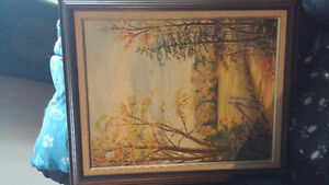 Phyl Dickie oil painting