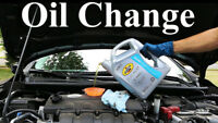Oil Change for your car at your Home
