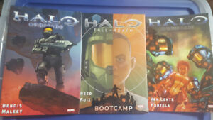 3x Halo Comic Books
