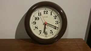 Mid Century Modern Solar Wall Clock Made in West Germany