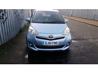 Toyota VERSO-S, 63K Mileage, 2011 year, breaking parts for sale