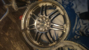 "17"" core racing rims 5 bolt Chevy car patern"