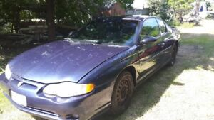 2000 Monte Carlo SS, loaded with options, needs headgasket