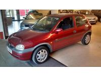 Vauxhall/Opel Corsa 1.4i 16v ( a/c ) auto 2000MY CDX very low miles