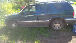 96 GMC Jimmy looking to trade for a car trailer or anything of I